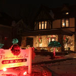 The Victorian Tudor Inn Christmas time